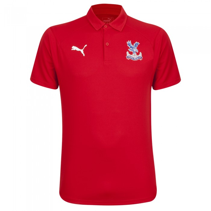 Travel Polo Shirt Red