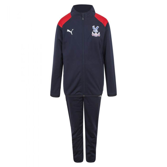 18/19 Travel Tracksuit Navy Youth