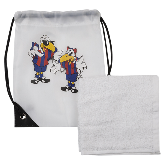 Eagle Kids Wash Bag and Flannel