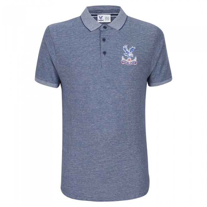 Logo Fox Polo Shirt Navy