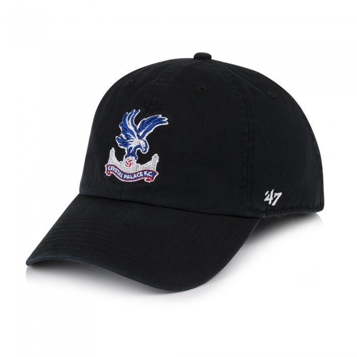 CPFC 47 Black Logo Clean Up Cap