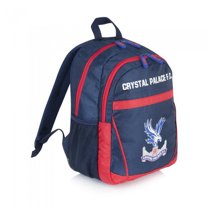 Kids Backpack Navy/Red