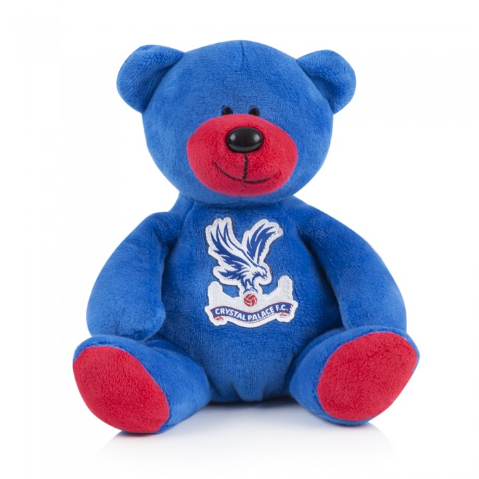 Blue/Red Beanie Bear