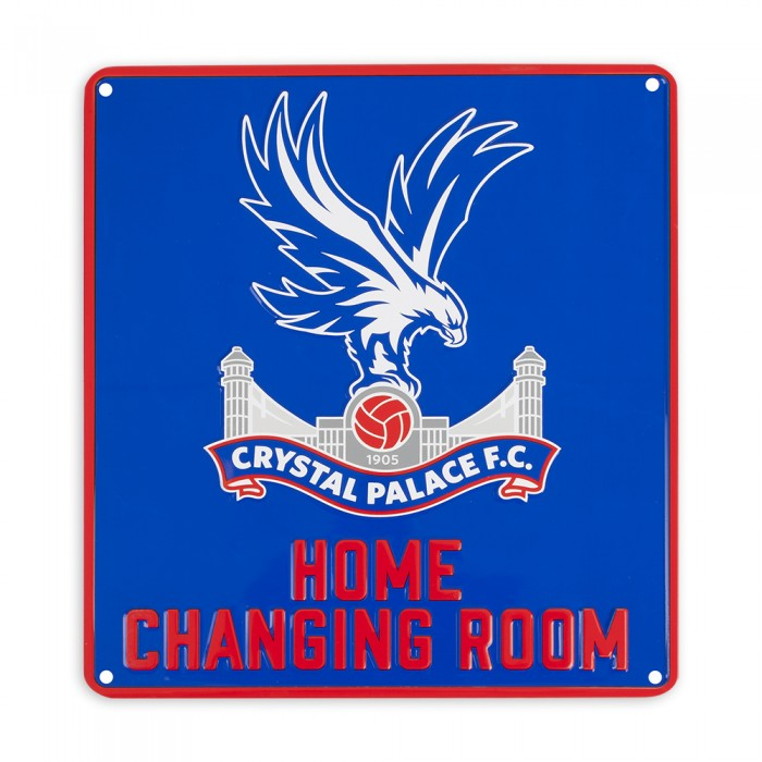 Changing Room Sign Royal
