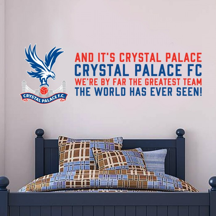 Greatest Team Wall Sticker
