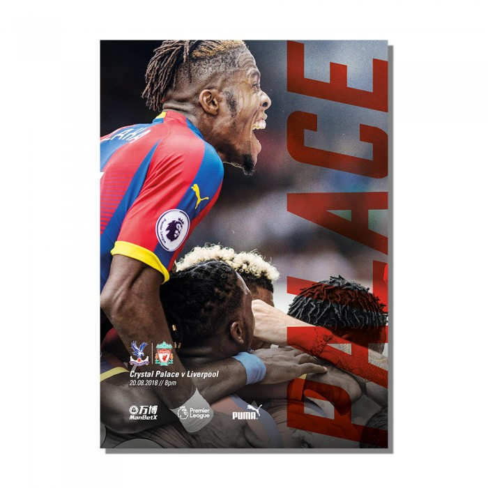 Matchday Programme vs Liverpool