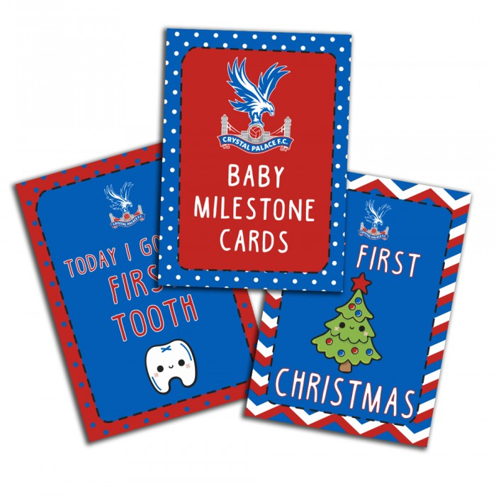 CPFC Baby Milestone Cards
