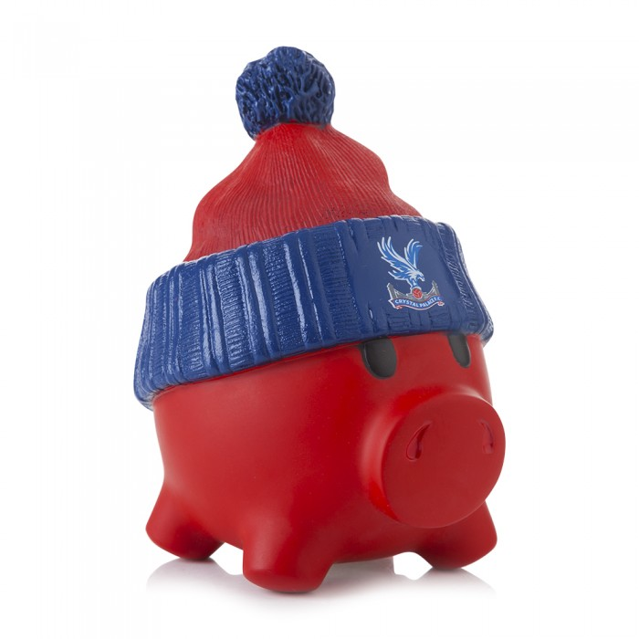 Red and Blue Piggy Bank