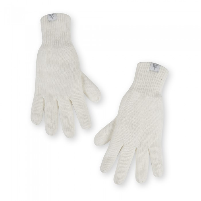 Ladies Cream Gloves