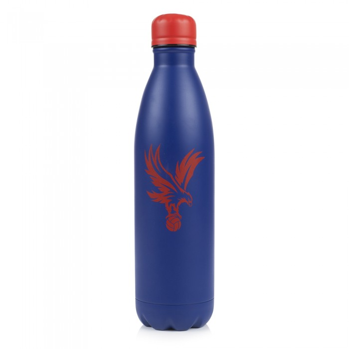 CPFC Blue Metal Water Bottle