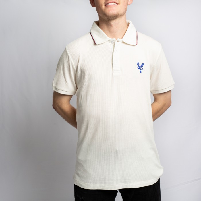 Crystal Palace White Polo Shirt