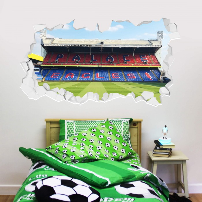 Holmesdale Stand Broken Wall Sticker