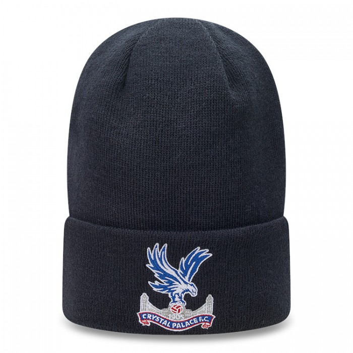 New Era Navy Logo Knit Hat