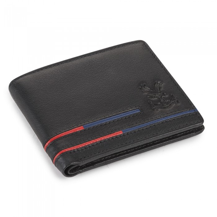 Black Striped Wallet