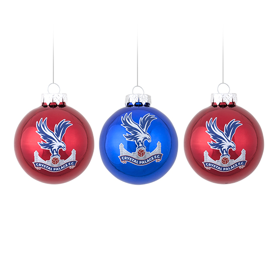 Christmas Logo Baubles (3 pack)