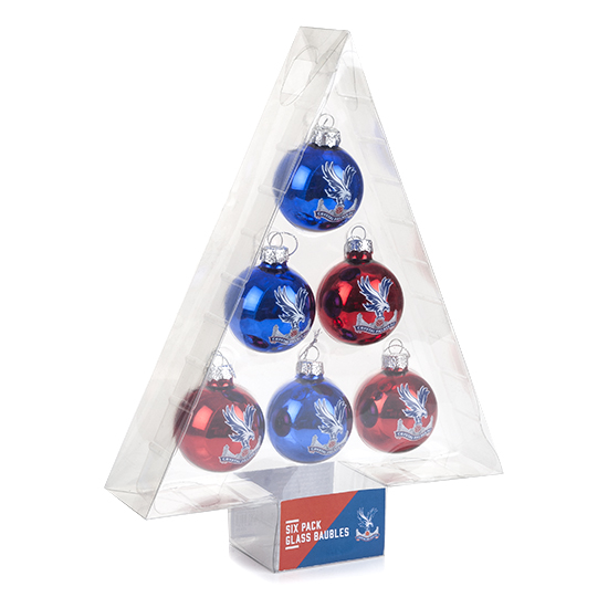 Christmas Logo Baubles (6 pack)