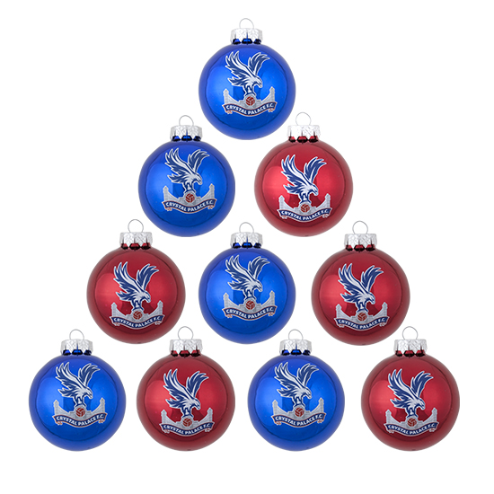 Christmas Logo Mini Baubles (10 pack)