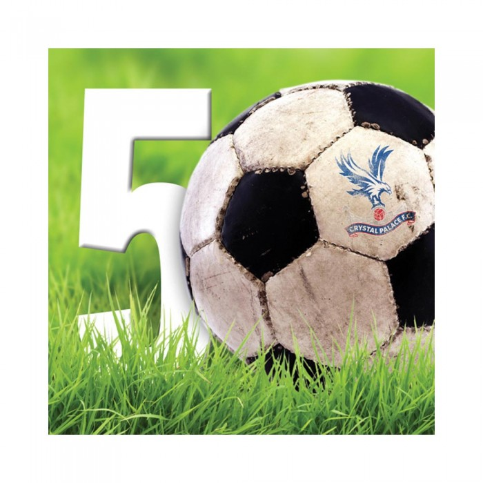 CPFC 50th Birthday Card