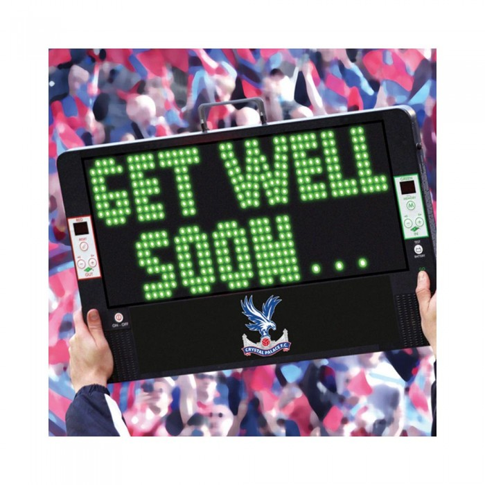 CPFC Get Well Soon Card