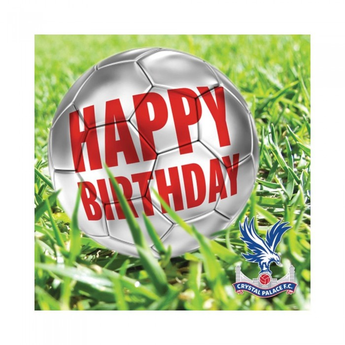 CPFC Happy Birthday Football Card