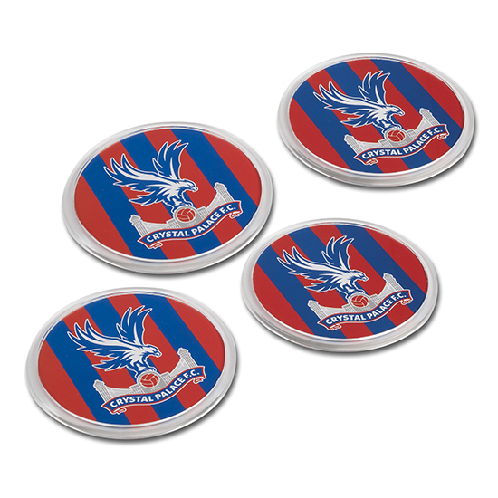 CPFC Stripe Coasters (4 Pack)