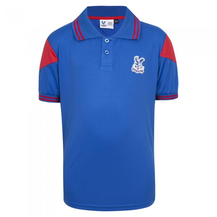 Crest Poly Fitness Polo Shirt Youth