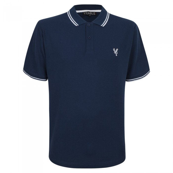 Eagle Polo Shirt Navy/White