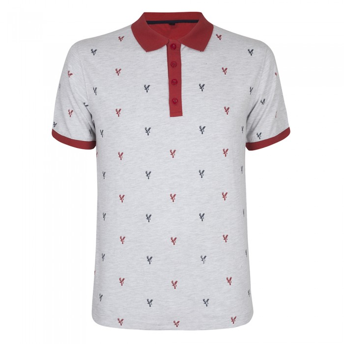 Eagle Print Polo Shirt