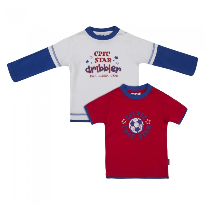Eaglet Baby T-Shirts (2 pack Red and White)
