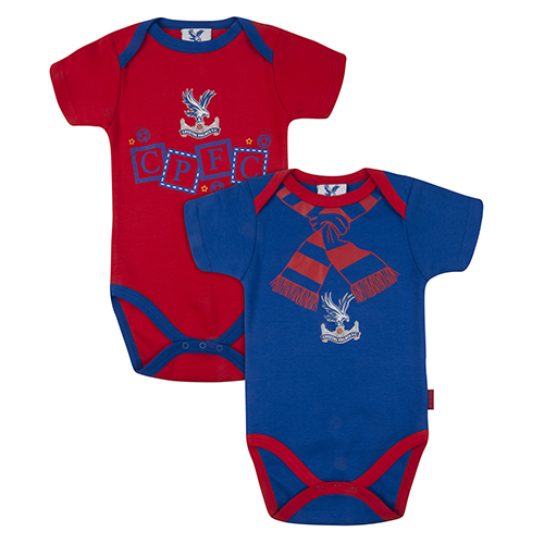 Eaglet Logo Baby Body Suit (2 pack)